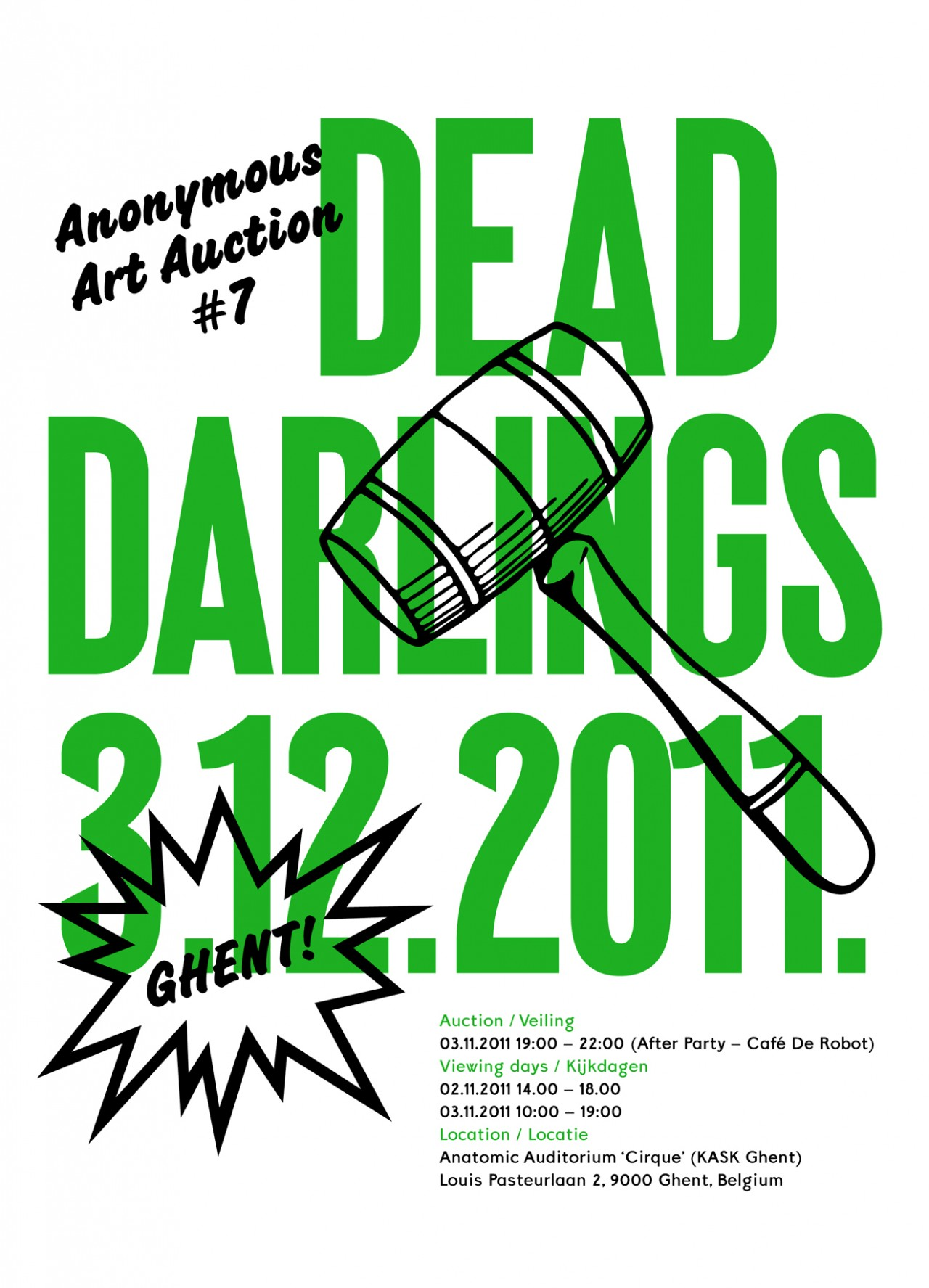 Dead Darlings Events